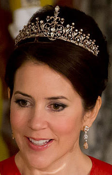 crown princess mary denmark ruby necklace tiara
