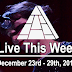 Live This Week: December 23rd - 29th, 2018