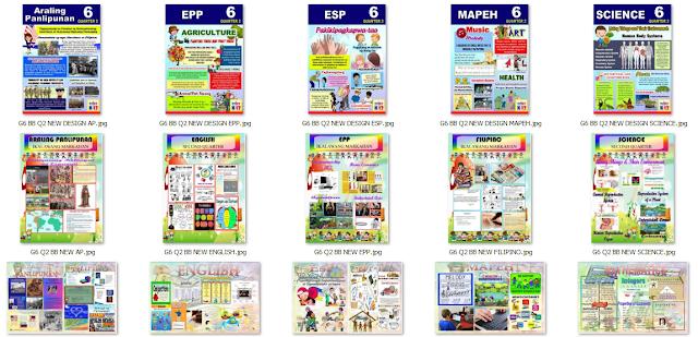 New Grade 6 K-12 Bulletin Boards in High Resolution