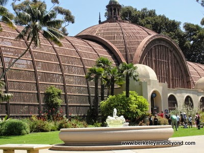 Botanical Building in Balboa Park in San Diego, California