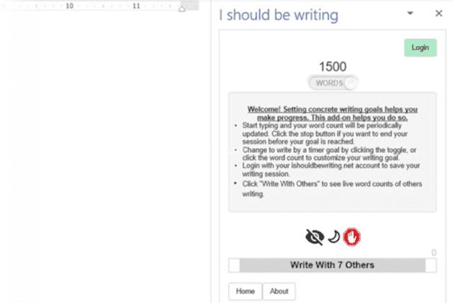 إضافة I Should Be Writing