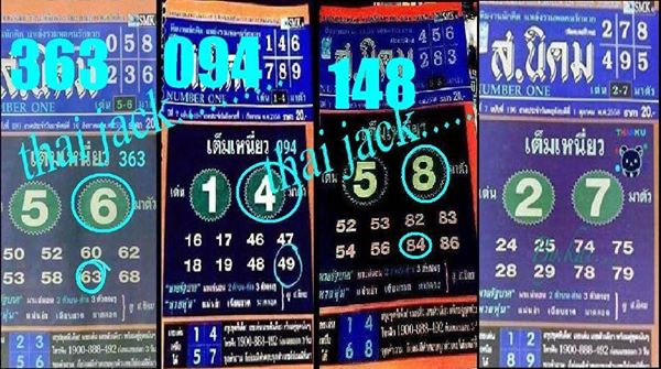 Thailand lottery sure touch papers 1 10 2015 thai lottery sure