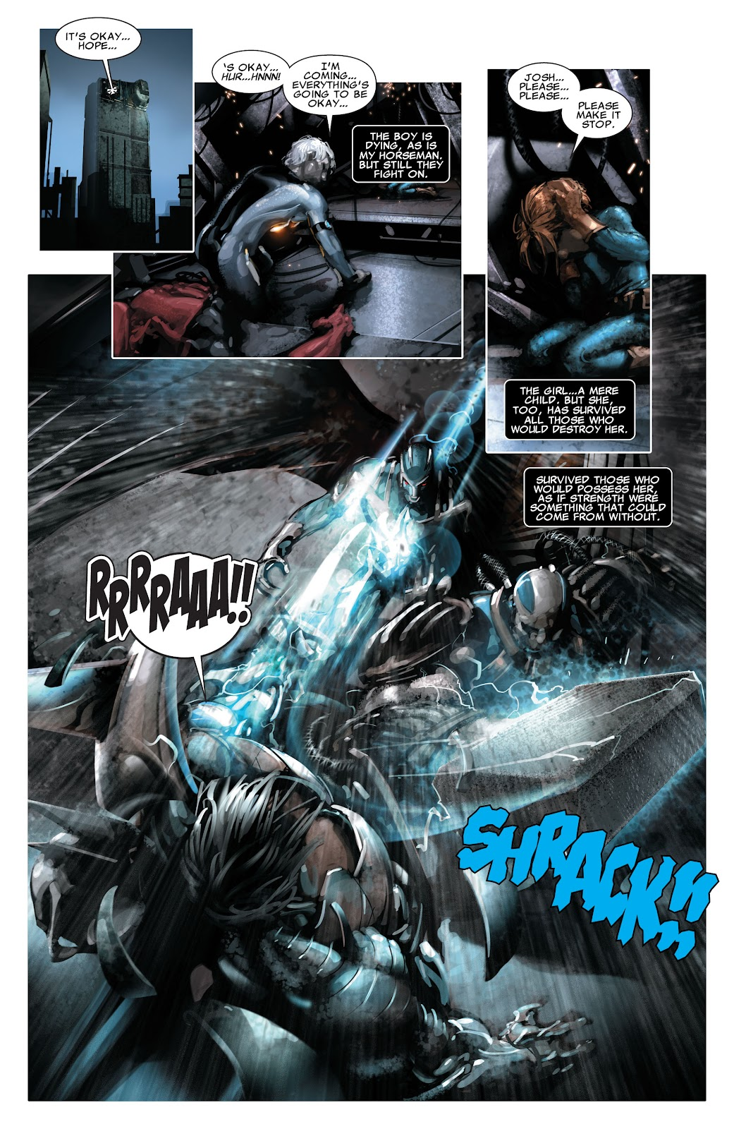 Read online X-Force/Cable: Messiah War comic -  Issue # _TPB (Part 2) - 128