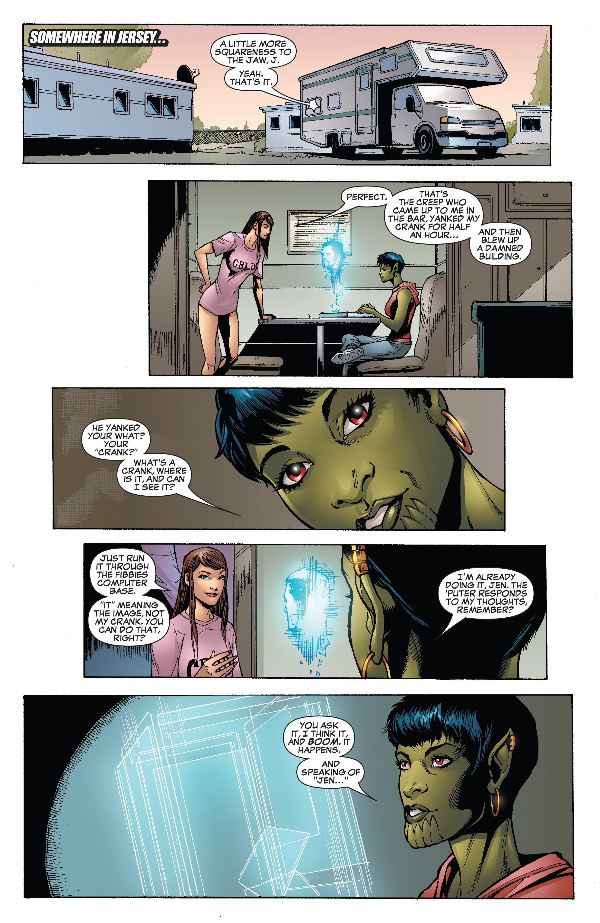 Read online She-Hulk (2005) comic -  Issue #25 - 3