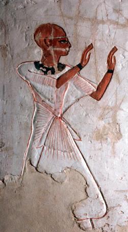 Ancient Egyptian Priesthood: Sem Priest: Adoration