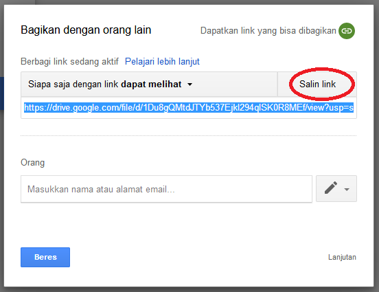 Cara Mengetahui Link Url File Google Drive Welcome To Jsc One Blog