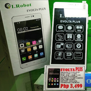 I.Robot Evolta Plus, 6-inch Quad Core Android Lollipop, Yours for Php3,499