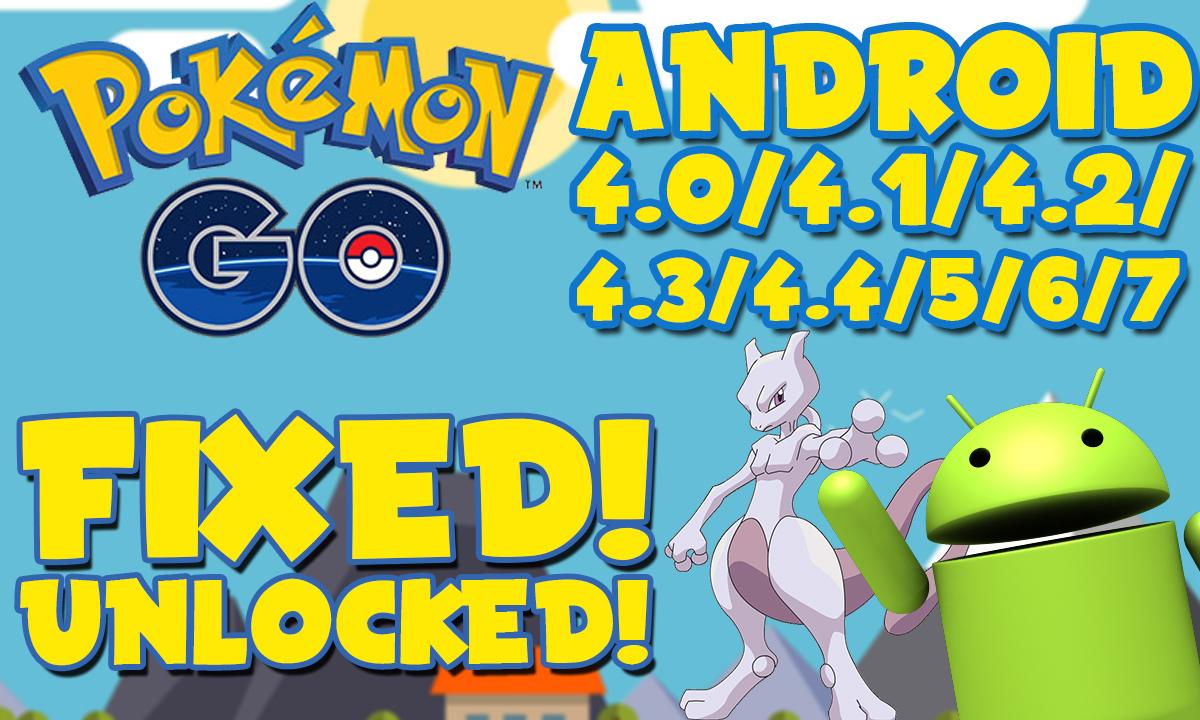 pokemon go mod apk android 4.4