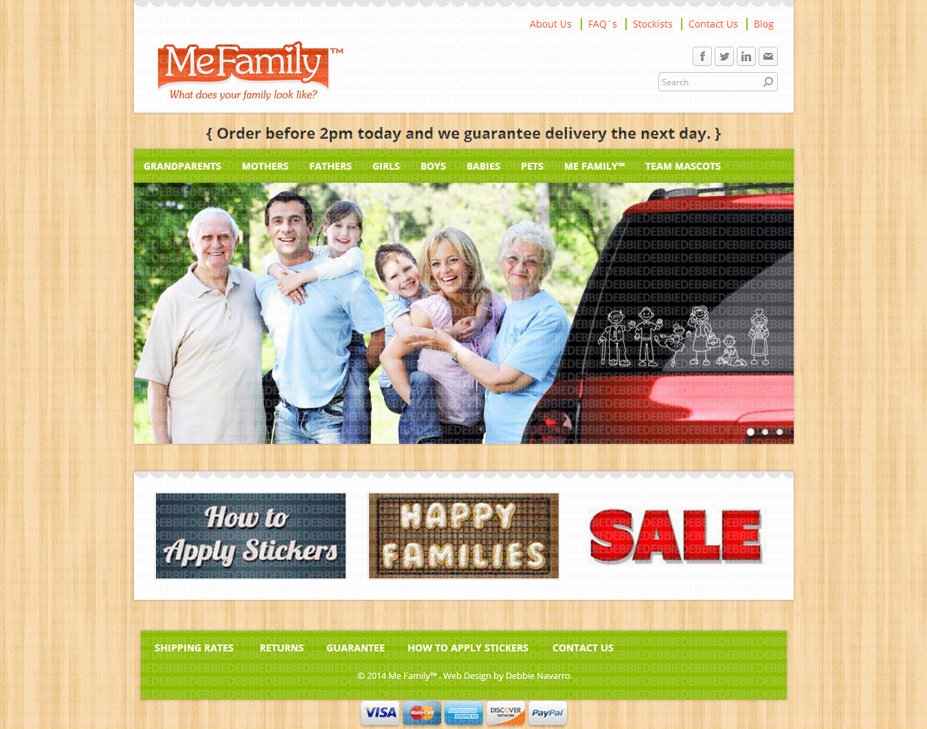 MeFamily Web Development on Weebly