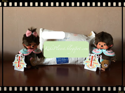 kiki monchhichi sekiguchi 45th anniversary thank you boy porte clés badges mongobess plus secret tokyo