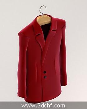 coat 3d model free
