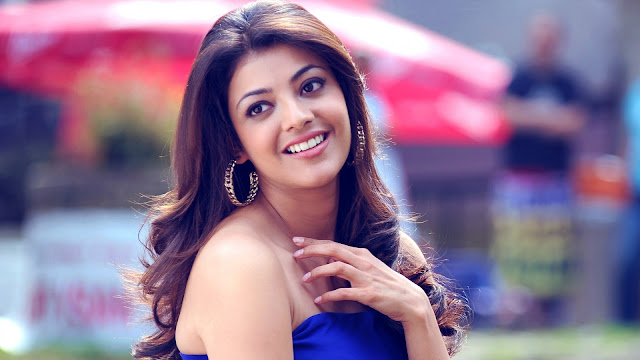 Kajal Agarwal smile image