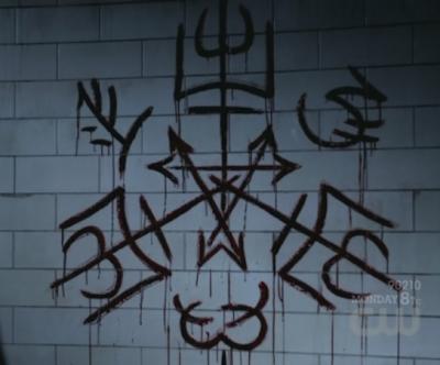 6x22 - The Man Who Knew Too Much purgatory sigil
