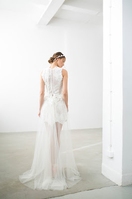 krótka suknia ślubna 2018