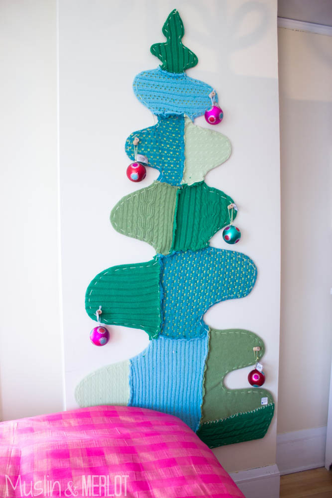 Bachman's Ideas House 2014 Upcycled Sweater Tree