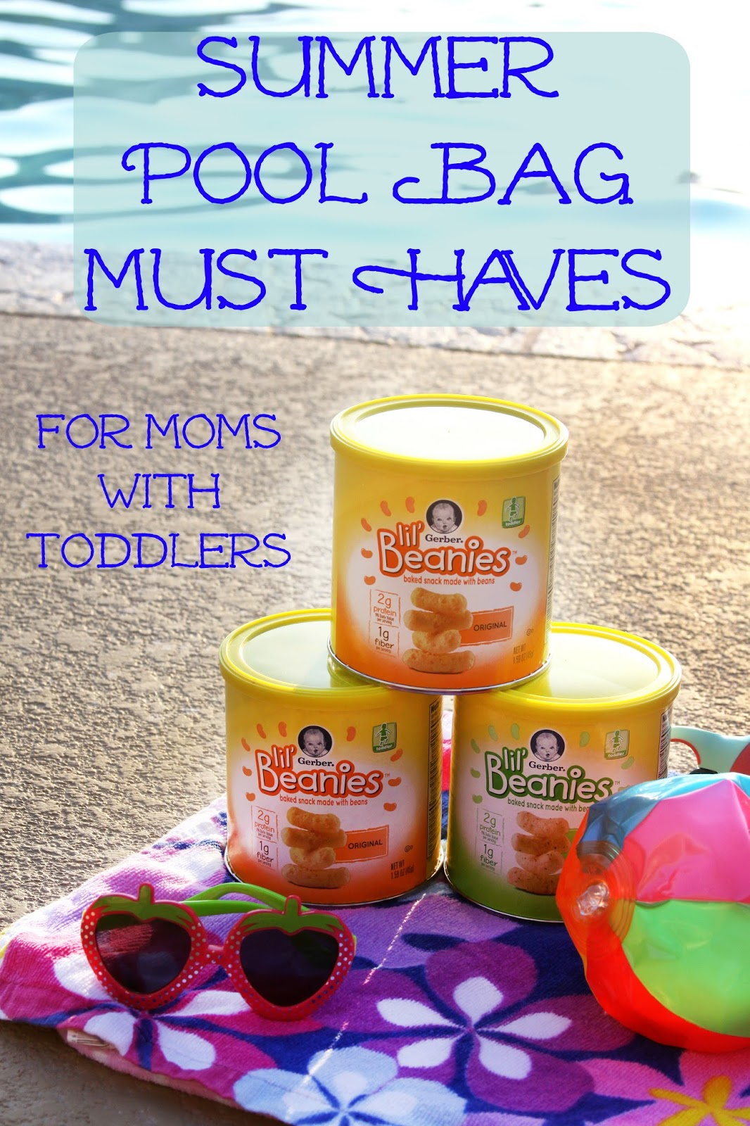 Summer Must Haves: For The Love Of Food: Summer Pool Bag Must Haves For Moms
