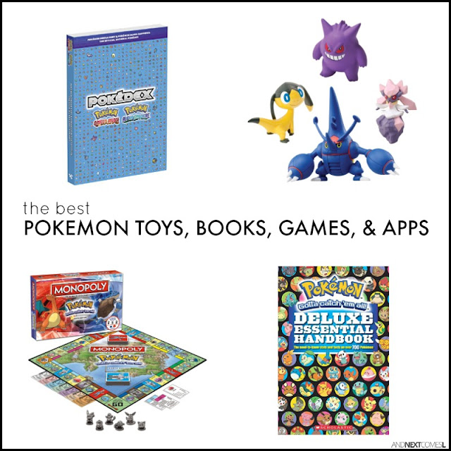 The best Pokemon books, games, toys, and apps for kids from And Next Comes L
