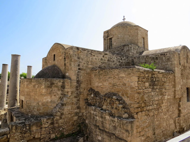 Cyprus Road Trip: Ayia Kyriaki Chrysopolitissa church
