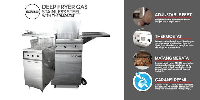Harga Deep Fryer Gas Murah di Yogyakarta