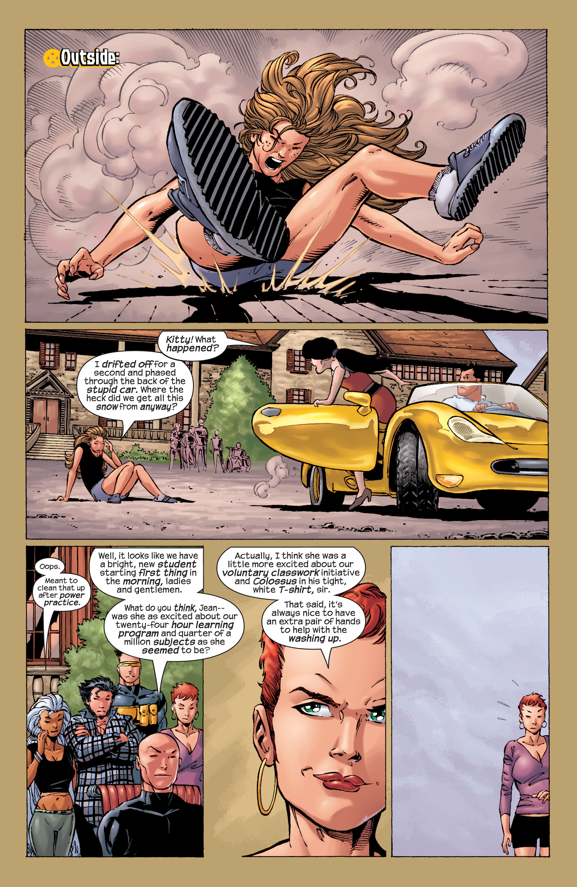 Read online Ultimate X-Men comic -  Issue #21 - 17