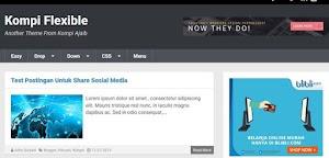 Menjadi Kolektor Template/Theme Blog