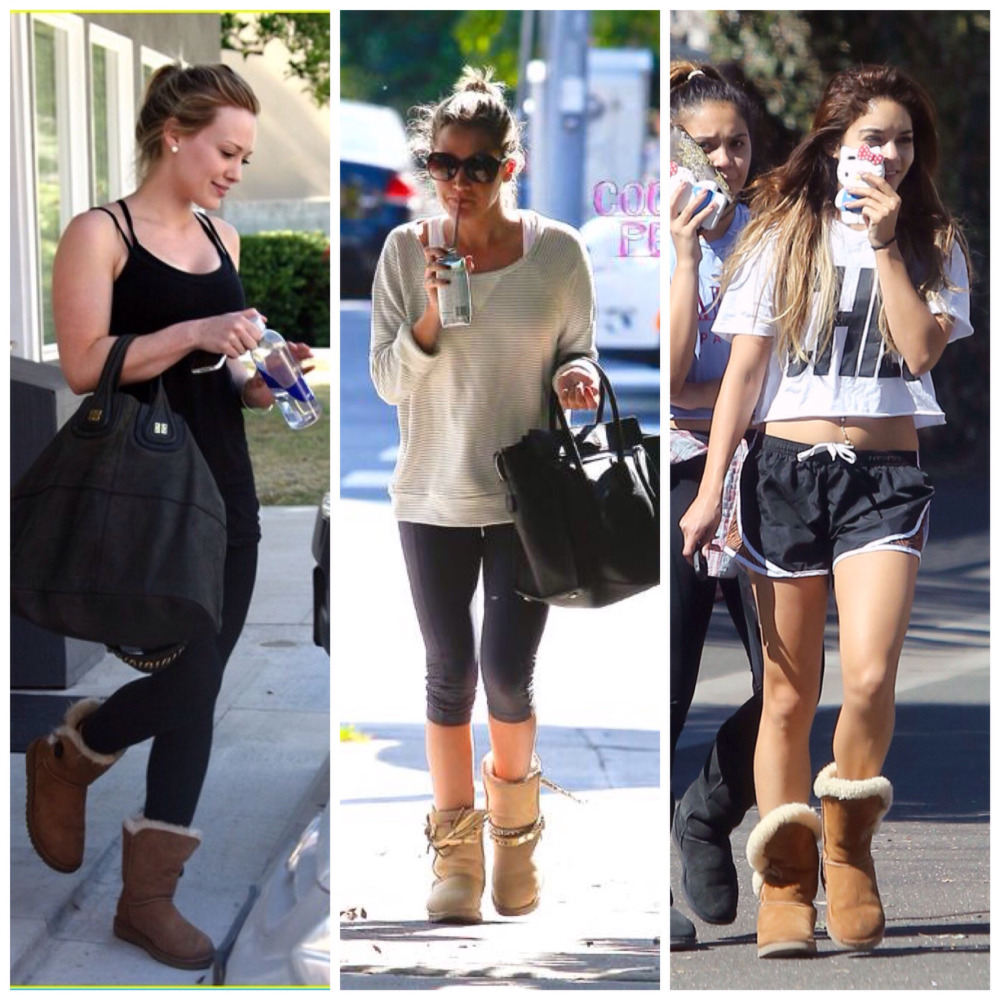 64912dff304 Beauty world: What to Wear With Ugg Boots?