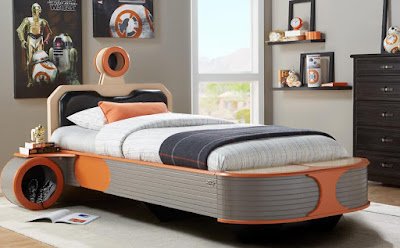 Starwars Landspeeder Twin Panel Bed