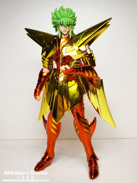 Saint Cloth Myth EX Kraken Isaac de Saint Seiya - Tamashii Nations