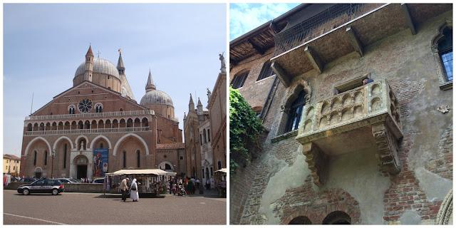 Basilica di Santo Antonio - Padova e Casa da Julieta - Verona
