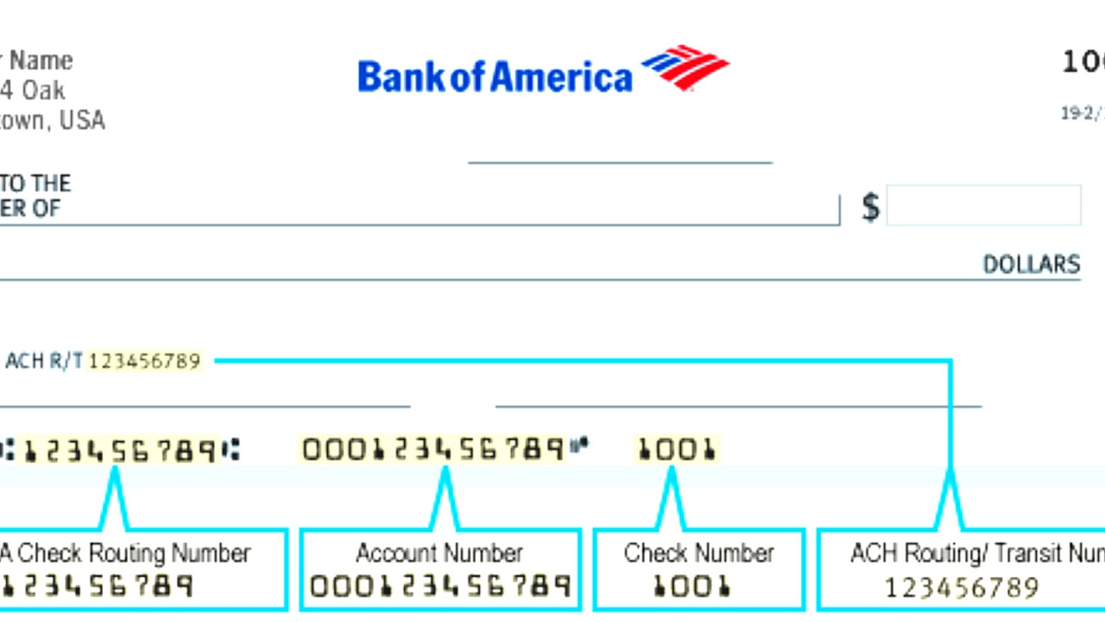bank of america fedwire aba