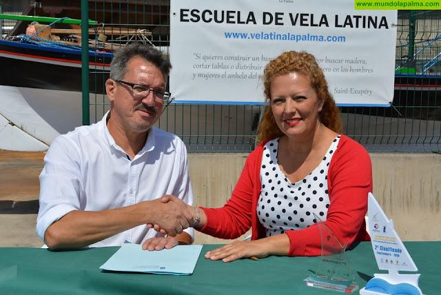 El Gobierno impulsa el fomento de deportes acuáticos entre los menores en protección de La Palma