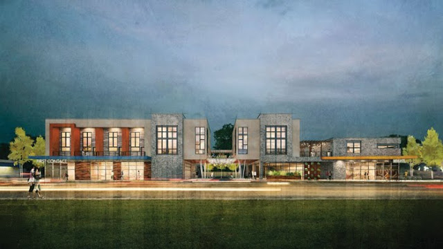A rendering of the Square 46 development that will house the White Star Market on White Star Market