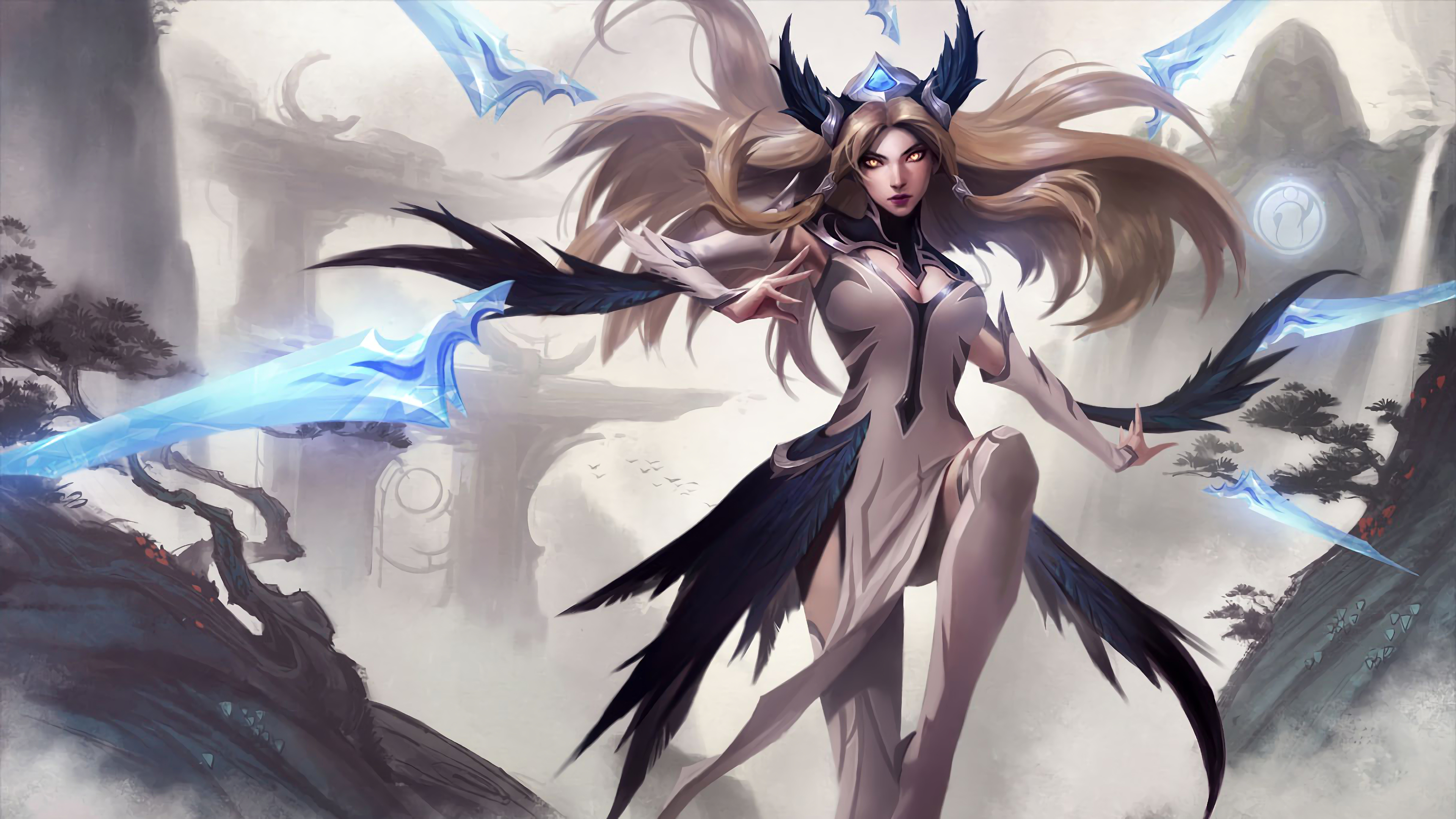 Invictus Gaming Irelia Splash Art Lol 4k Wallpaper 66