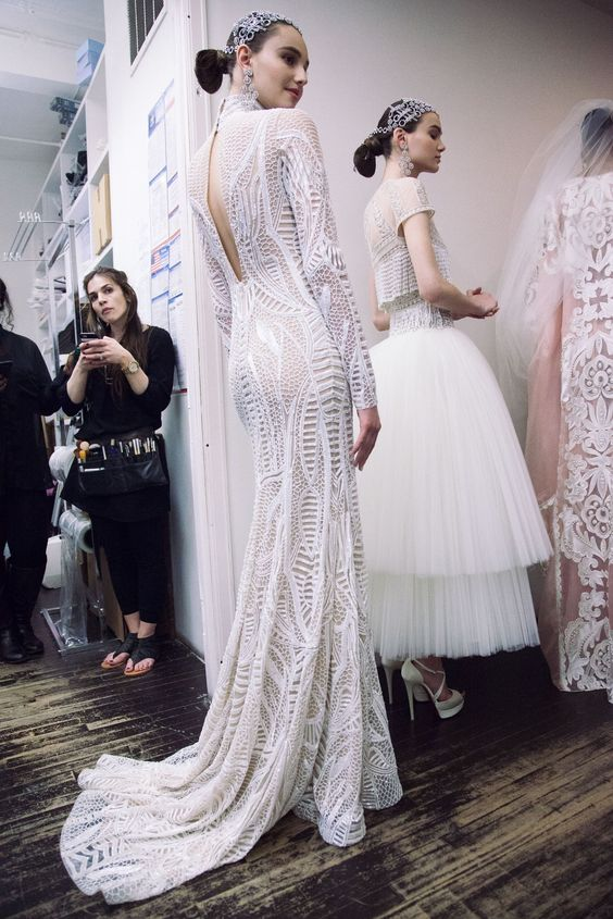 Naeem Khan Bridal Spring 2017 Wedding Style Inspiration | LANE