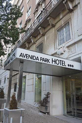 Avenida Park Hotel Lisbon, Portugal.