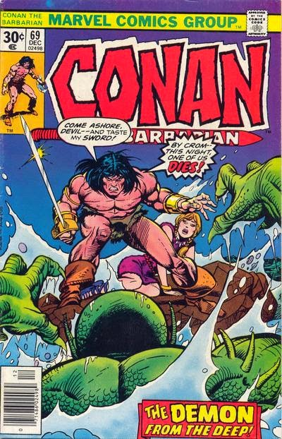 Conan the Barbarian #69