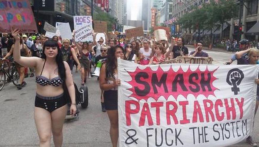 Congratulate, seems feminist slut doctrine