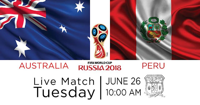 AUSTRALIA VS PERU LIVE STREAM WORLD CUP 27/6/2018