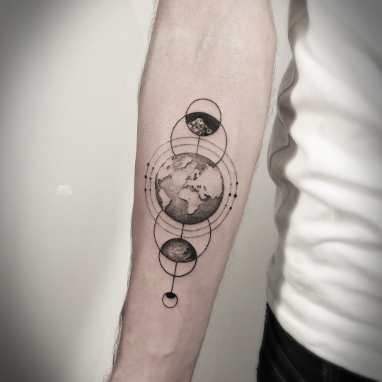25 Fabulous Earth Tattoo Ideas And Meanings