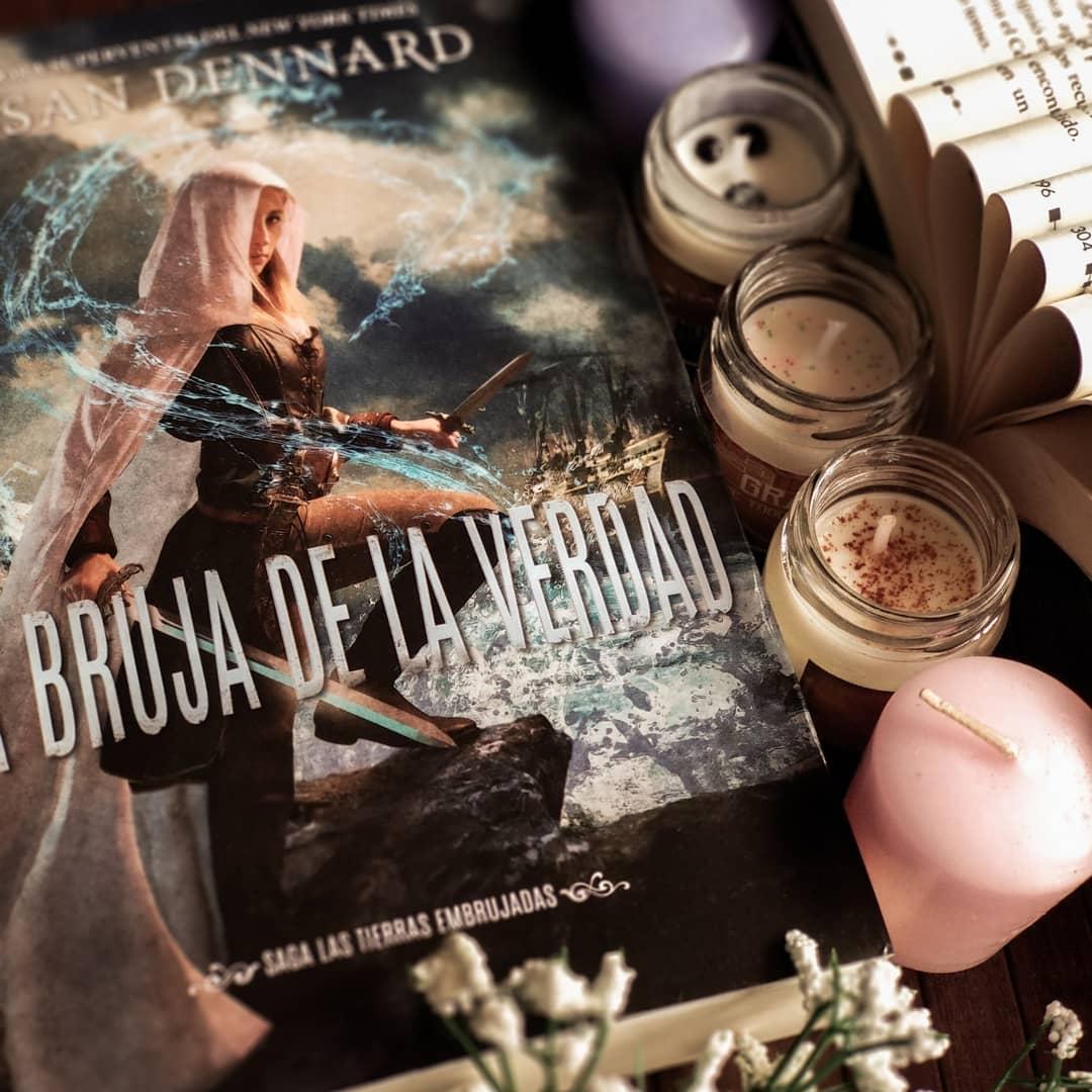 Foto del libro La bruja de la verdad de la autora Susan Dennard