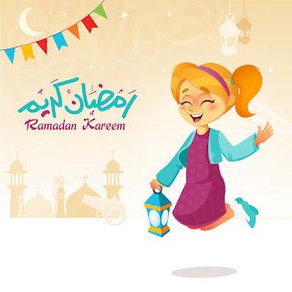 صور بنات رمضان كريم