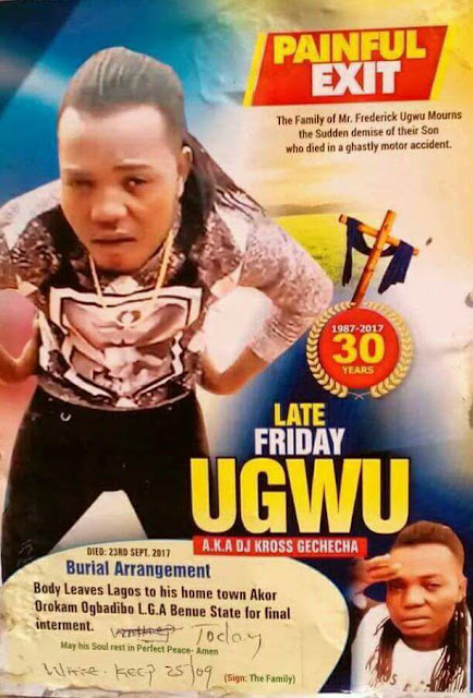 friday ugwu dead