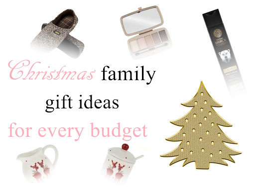 Karolinka's beauty and makeup: Christmas family gift ideas for every budget