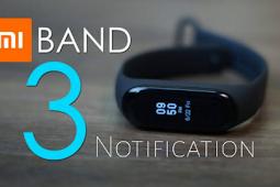 Cara Menampilkan Notifikasi Aplikasi di Mi Band 3