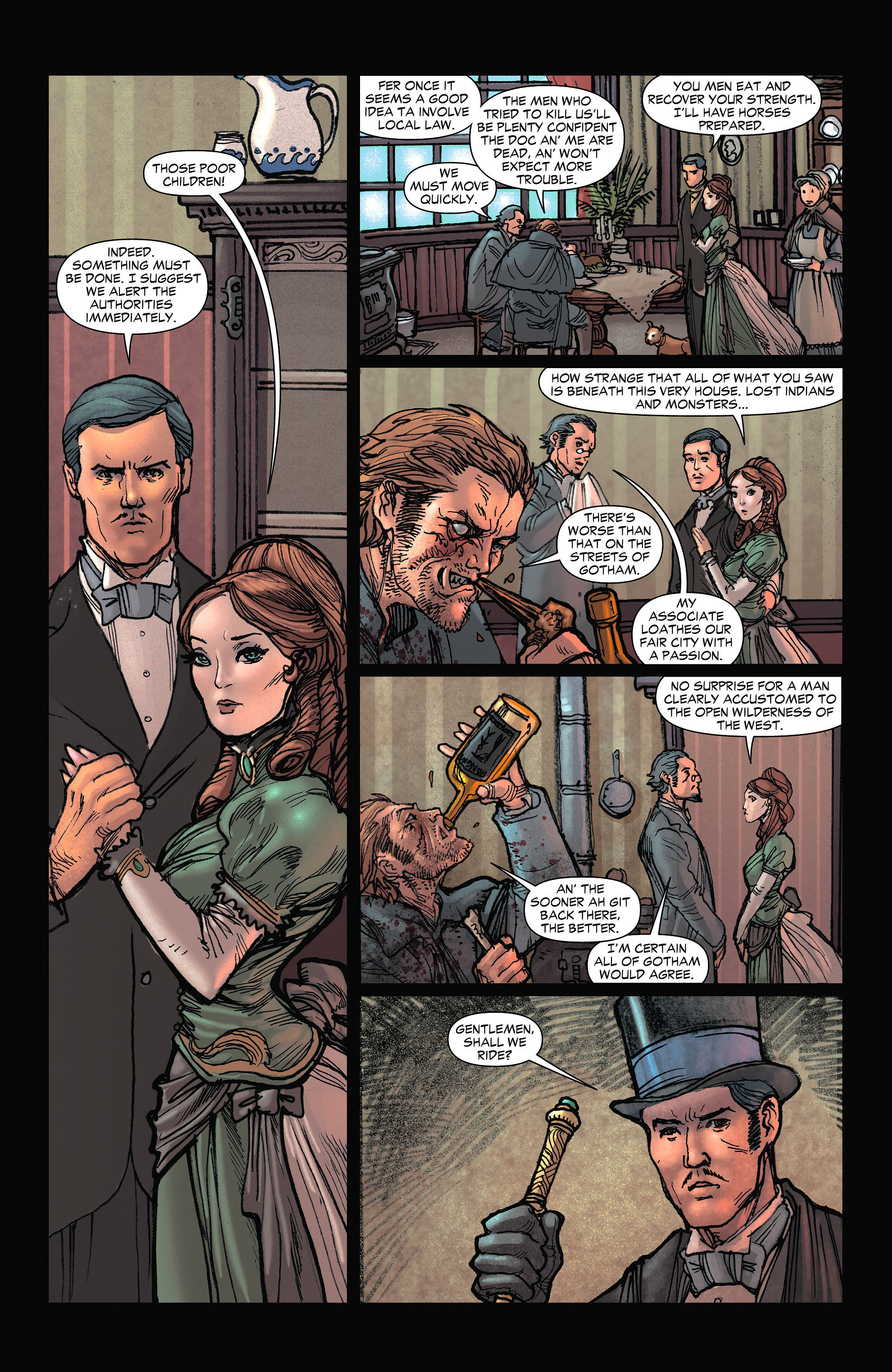Read online All-Star Western (2011) comic -  Issue #6 - 8
