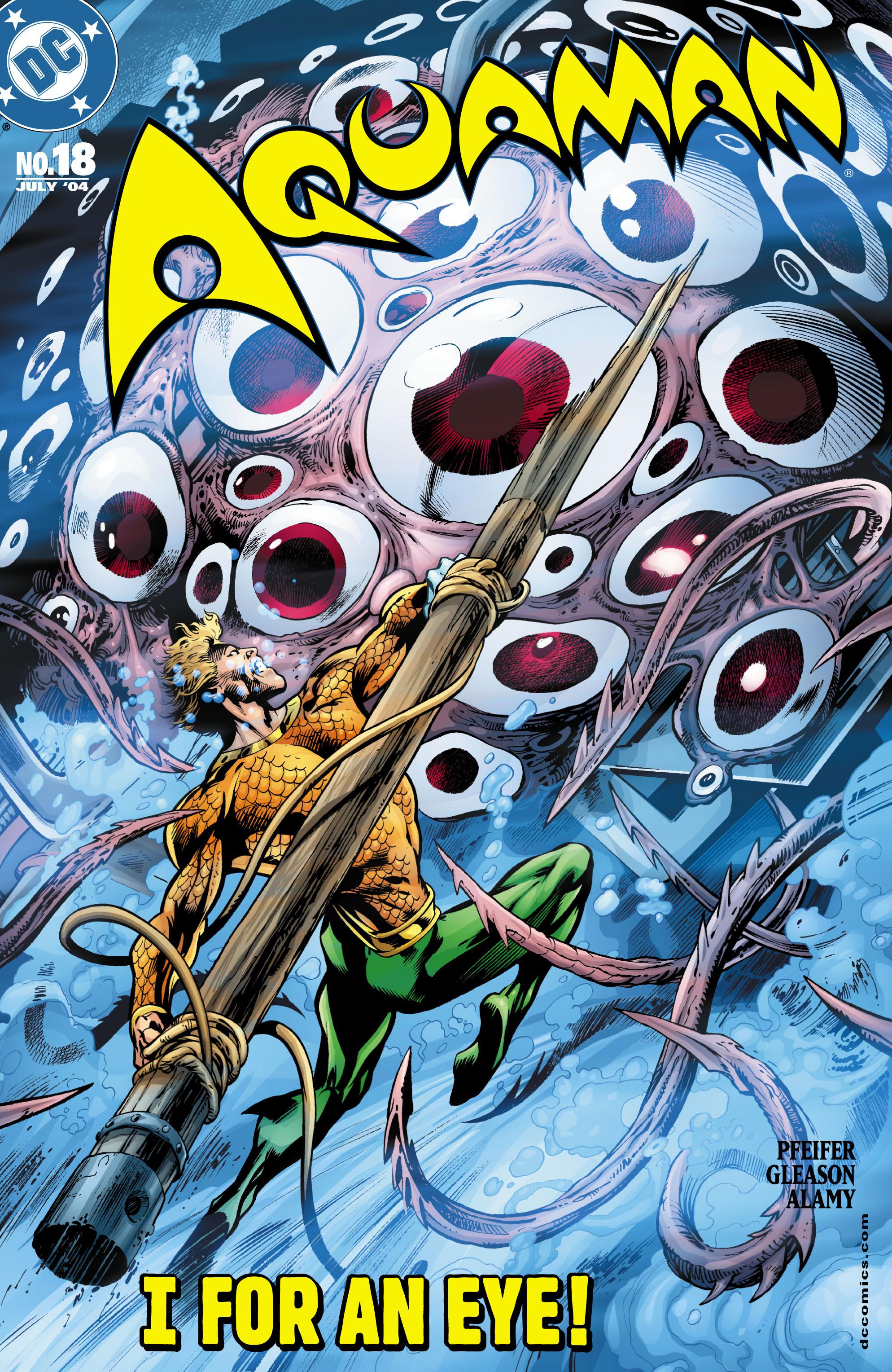 Read online Aquaman (2003) comic -  Issue #18 - 1