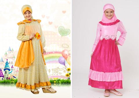 keke baju muslim anak