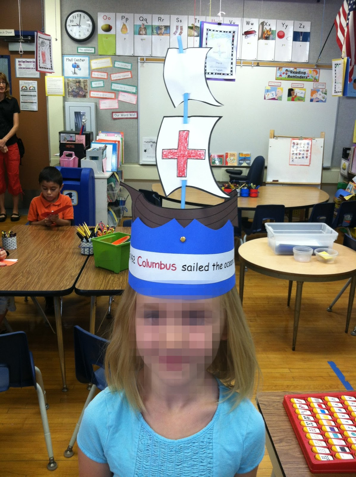 Kinder Learning Garden We Love This Columbus Day Hat