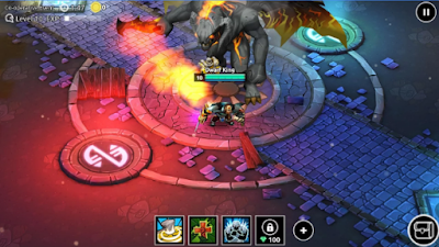 Dungeon Legends Skeleton King Mod v2.140 Apk For Android