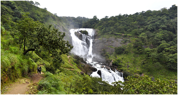water fall in Coorg, Karnataka